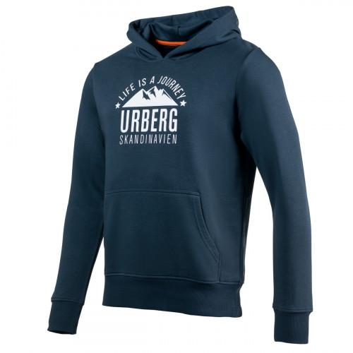 Urberg Logo Hood Men Midnight