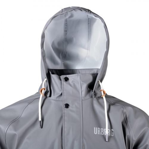 Urberg Malme Pu Rain Set Unisex Jet Black/Smoked Pearl