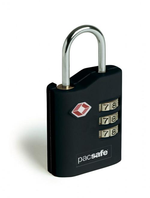 Pacsafe Prosafe 700 Combination Padlock Black