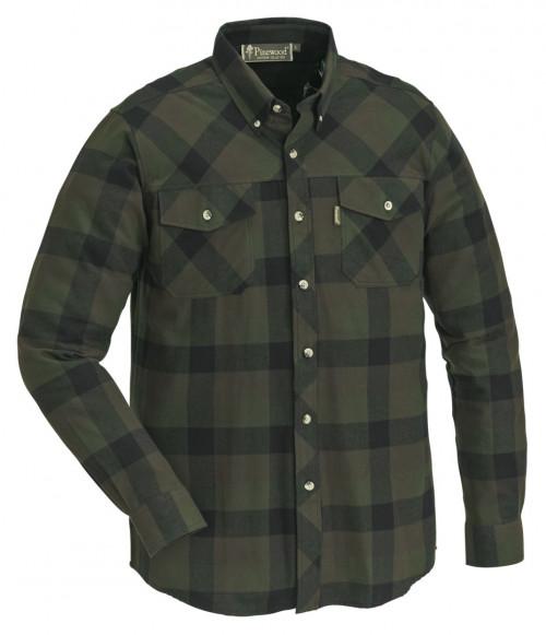 Pinewood Lumbo Skjorte Grønn/Svart