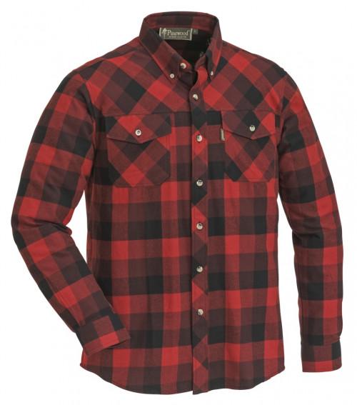 Pinewood Lumbo Skjorte Rød/Svart