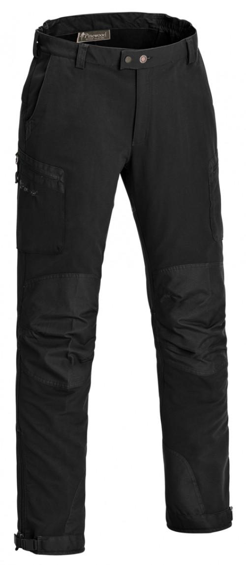 ead8980a Pinewood Wildmark Bukse Stretch Svart/Svart | Fjellsport.no