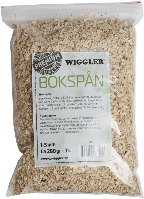 Wiggler Bokspån 250GR