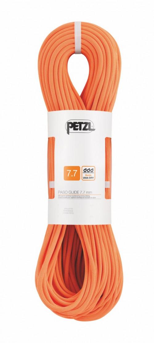Petzl Paso Guide 7,7mm x 60m Oransje
