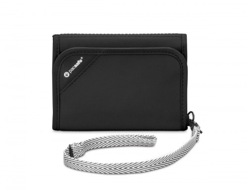 Pacsafe Rfidsafe V125 Trifold Wallet Black