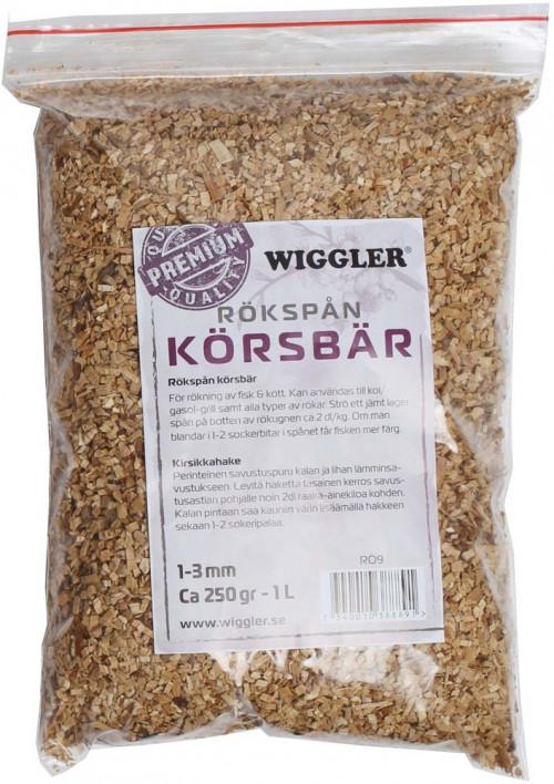 Wiggler Rökspån Körsbär 250GR