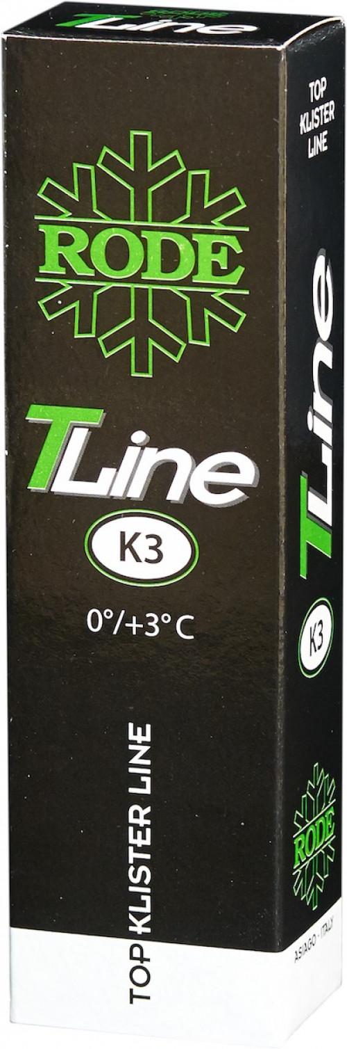 Rode Klister Top Line K3 0/+3