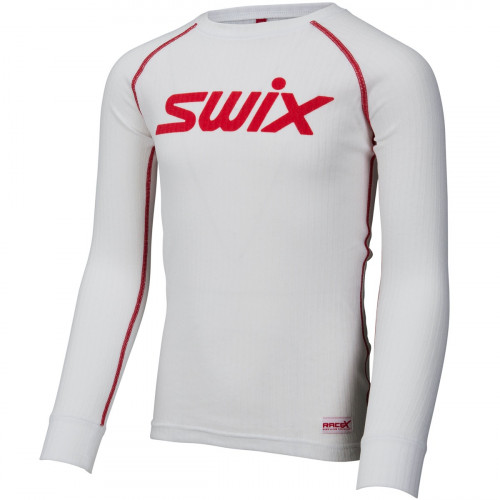 Swix Racex Bodyw LS Jr Bright White