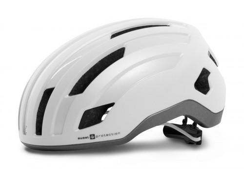 Sweet Protection Outrider Helmet Satin White/Slate Gray Met.