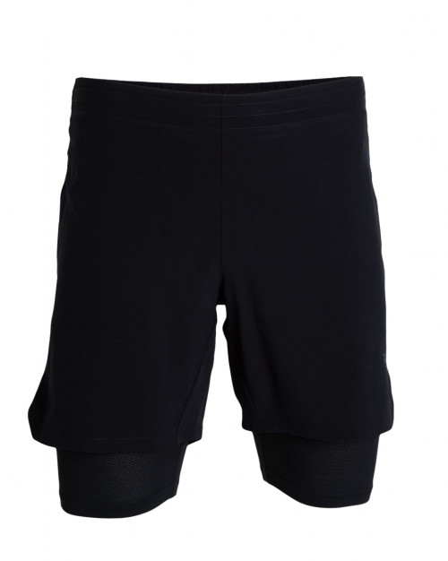 Tufte Wear Mens Active Shorts With Liner Black Beauty
