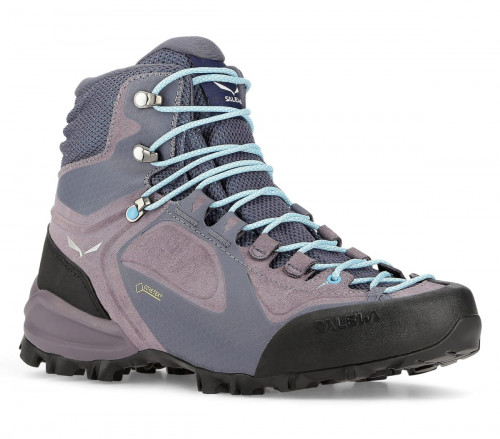 Salewa Womens Alpenviolet Mid Gtx Grisaille/Ethernal Blue