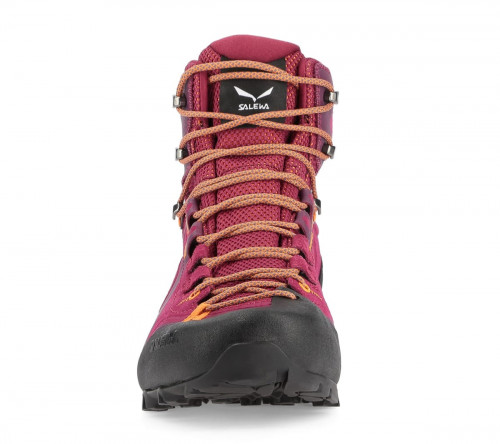 Salewa Womens Alpenviolet Mid Gtx Red Plum/Orange Popsicle