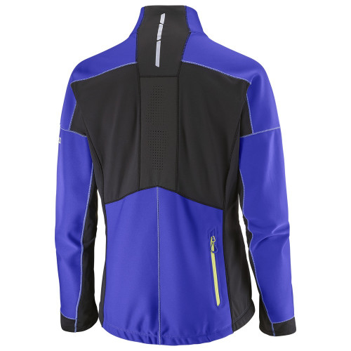 Salomon S-Lab Xc Windstopper Jacket Women's Phlox Violet/Black