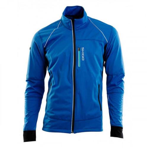 Skigo Velocity Air Mens Jacket Blue