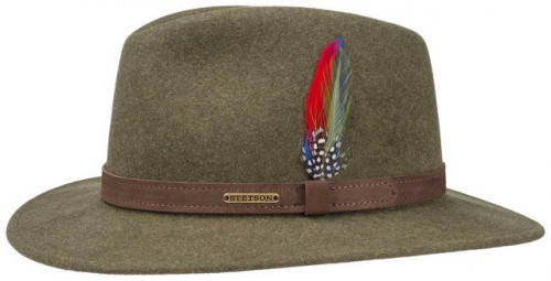 Stetson Traveller Woolfelt Green Mix