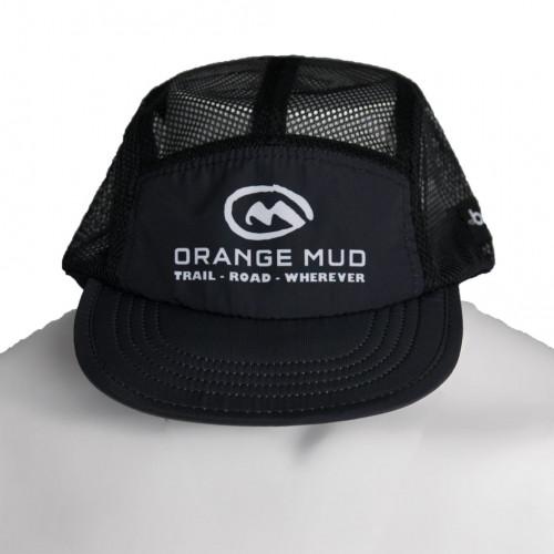 Orange Mud The Squishy Hat Black And White