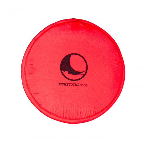 Ticket To The Moon Pocket Frisbee Red ø 25 cm