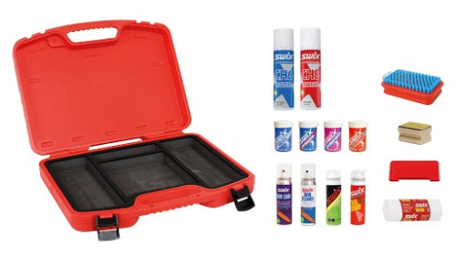 Swix T68F Filled Waxcase For XC