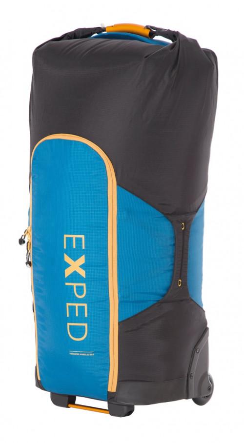 Exped Transfer Wheelie Deep Sea Blue/Black