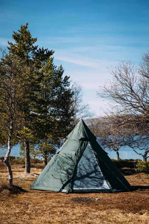 Urberg Tipi Tent Kombu Green