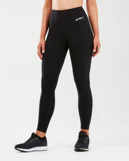 2XU Fitness Hi-Rise Comp Tights Dame Black/Black
