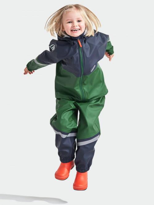 Didriksons Waterman Kids Set 4 Leaf Green