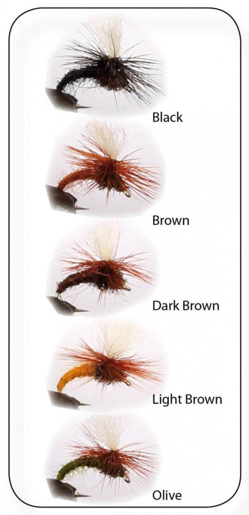 Wiggler Dry Fly Klinkhamers 5-P