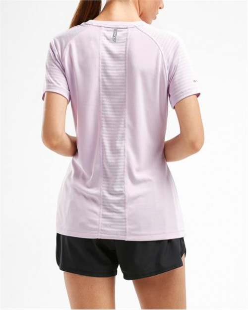 2XU X-Vent S/S Tee Dame Winsome Orchid/Winsome Orchid