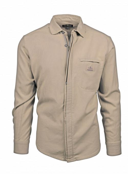 Amundsen Vagabond Shirt G. Dyed Womens Khaki