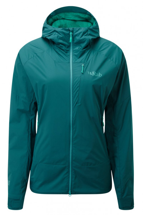 Rab Vr Summit Jacket Wmns Atlantis