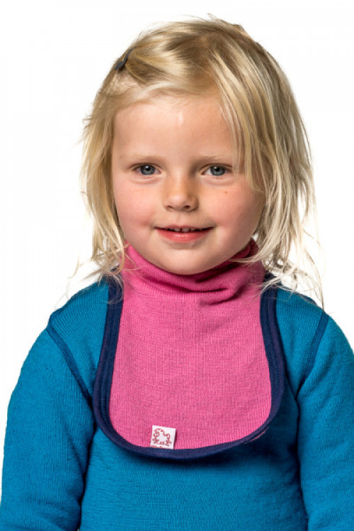 Woolpower Kids Mock Turtleneck 200 Dolphine Blue