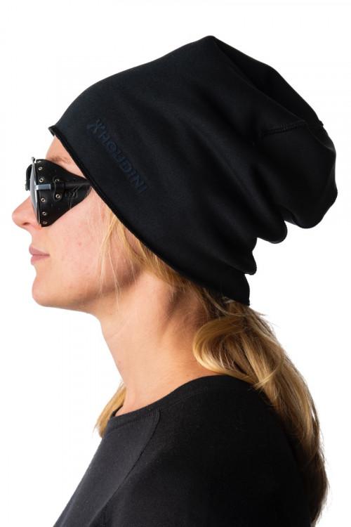 Houdini Toasty Top Hat Heather True Black