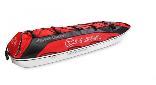 Fjellpulken Xplorer Ekspedisjonspulk Rød 168cm
