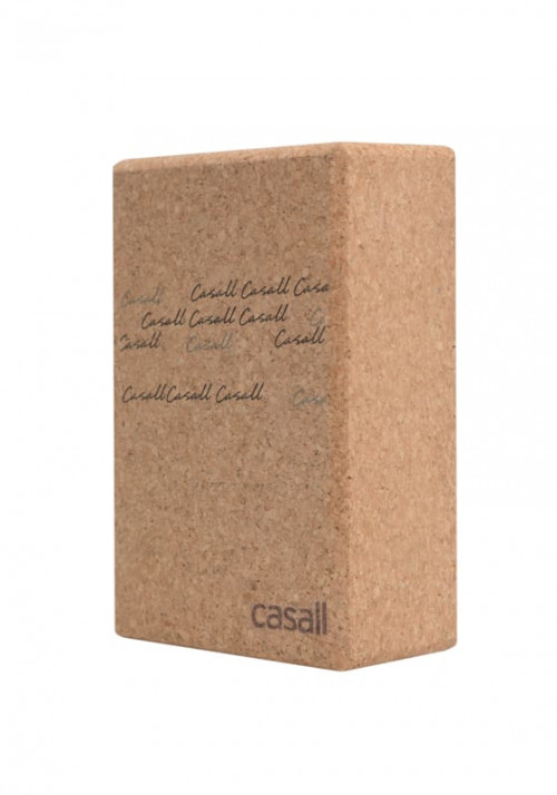 Casall Yoga Block Natural Cork Natural Cork