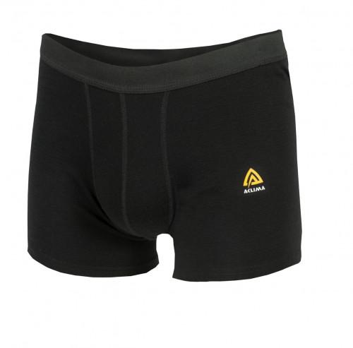 Aclima WarmWool Boxer Shorts Man Black