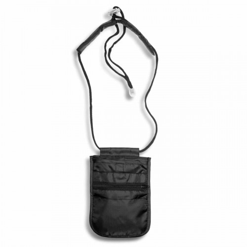 Arctic Tern Travel Neck Pouch Black