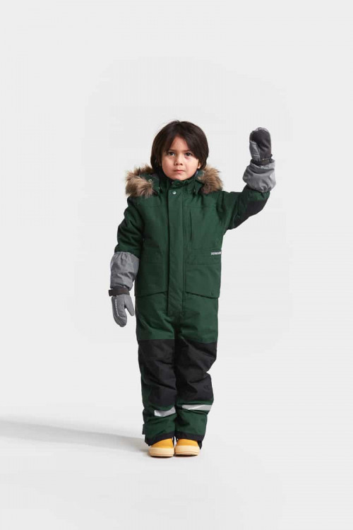 Didriksons Biggles Reflective Kid's Mittens 2 Silver