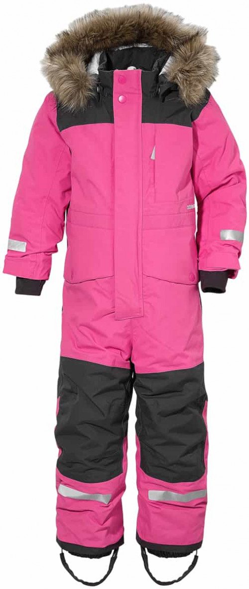 Didriksons Björnen Kid's Coverall 3 Plastic Pink