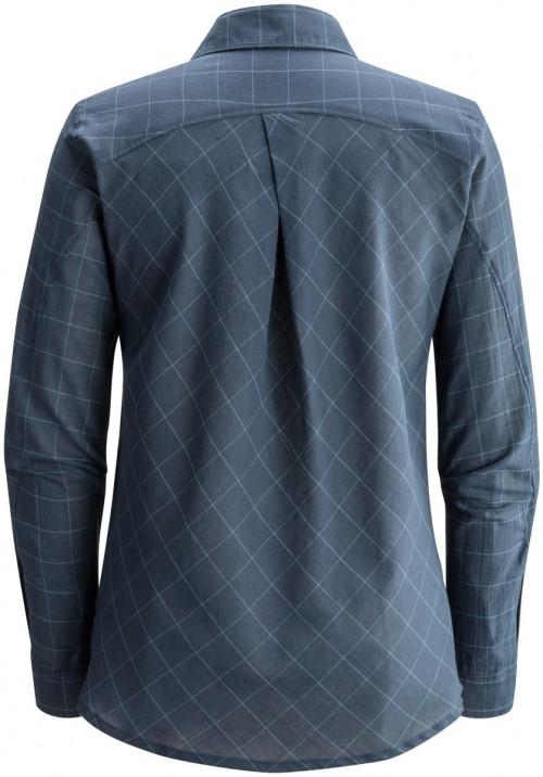 Black Diamond W's Technician Shirt Aluminum-Nickel Plaid