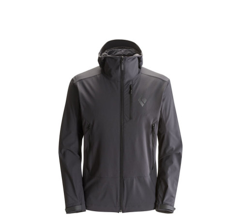 Black Diamond Mens Jacket Dawn Patrol Shell Smoke