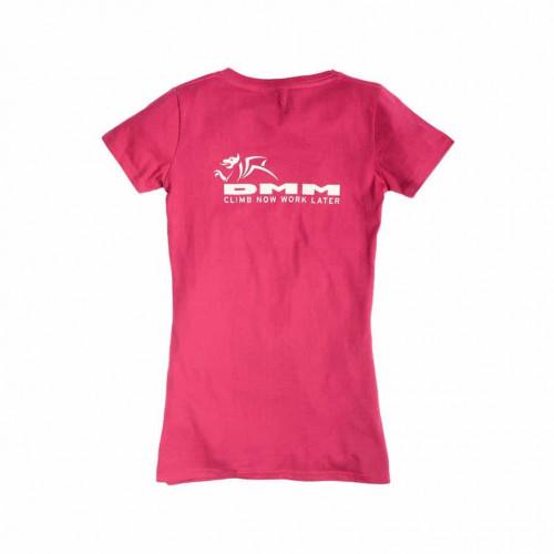 DMM Womens' T-Shirt Hot Pink