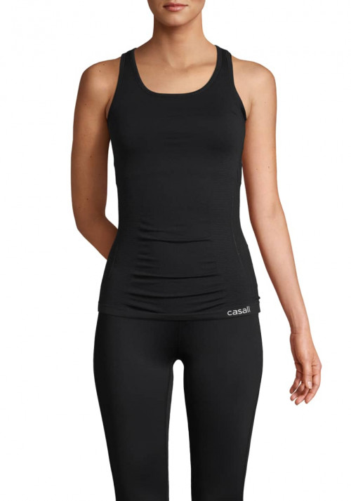 Casall Conscious Support Racerback Black