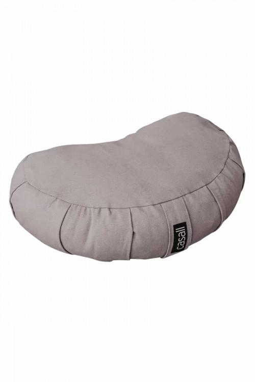 Casall Meditation Pillow Halfmoon Shape Warm Grey 0