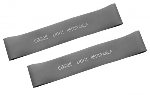 Casall Rubber Band Light 2pcs Light Grey