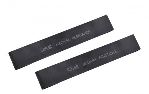 Casall Rubber Band Medium 2pcs Black