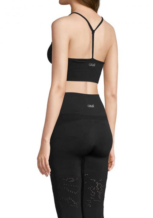 Casall Seamless Skin Sport Top Black