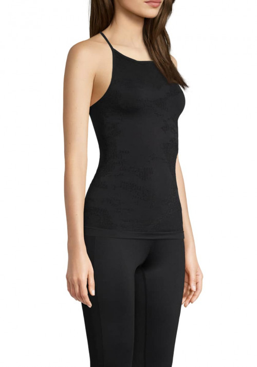 Casall Seamless Skin Strap Top Black