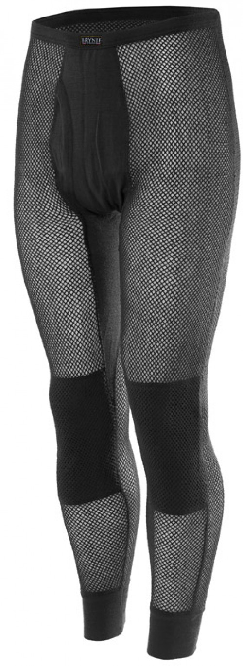 Brynje Wool Thermo Longs w/inlay Black