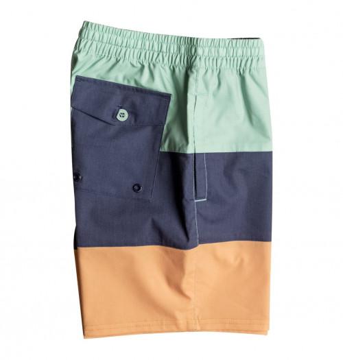 """DC Henning 14.5"""" Swim Shorts Boy's Malachite Green"""