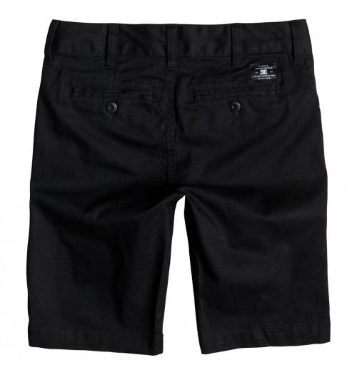 DC Worker Straight Shorts Boy's Black